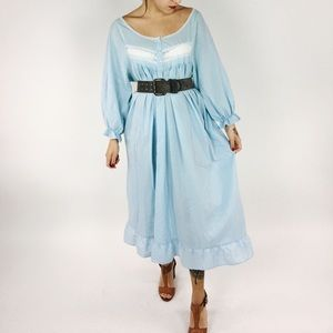 80's Cloudy Dreams Nightgown